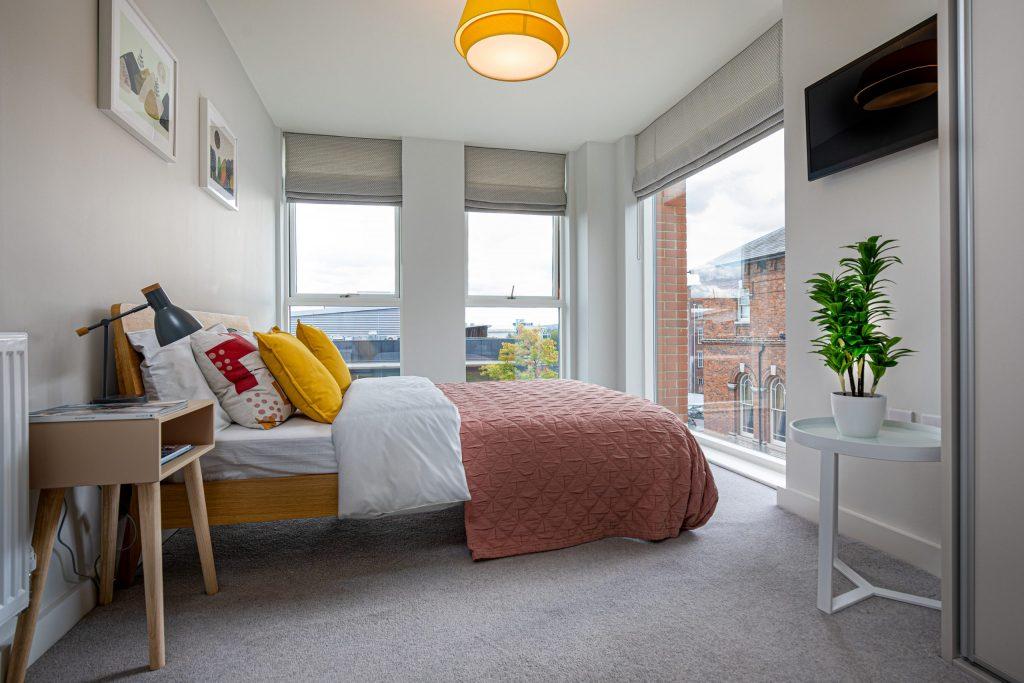 The Exchange bedroom